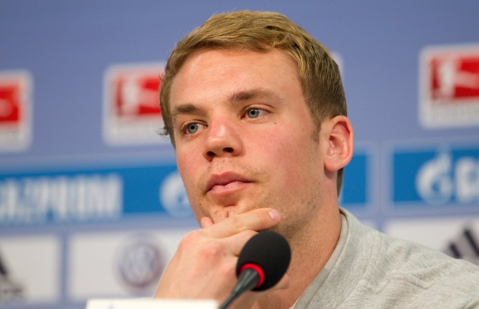 So hard to say goodbye: Neuer is heading out of Schalke